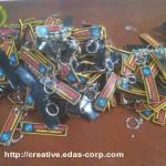 Gantungan Kunci Karet   gantungan kunci label karet 2 150x150